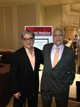 Deepak and Sanjiv - Harvard Update in Internal Medicine